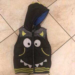 Boys Rock Jackets & Coats - EUC Boys Rock Monster Puffy Vest